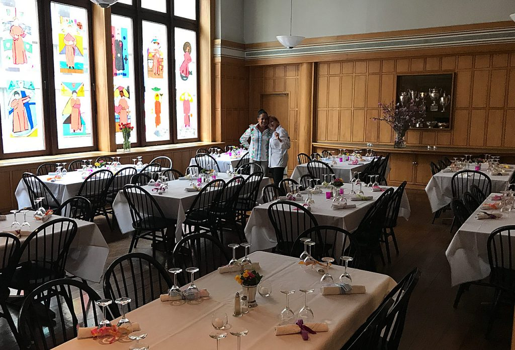 The Saint Thomas Choir School dining room