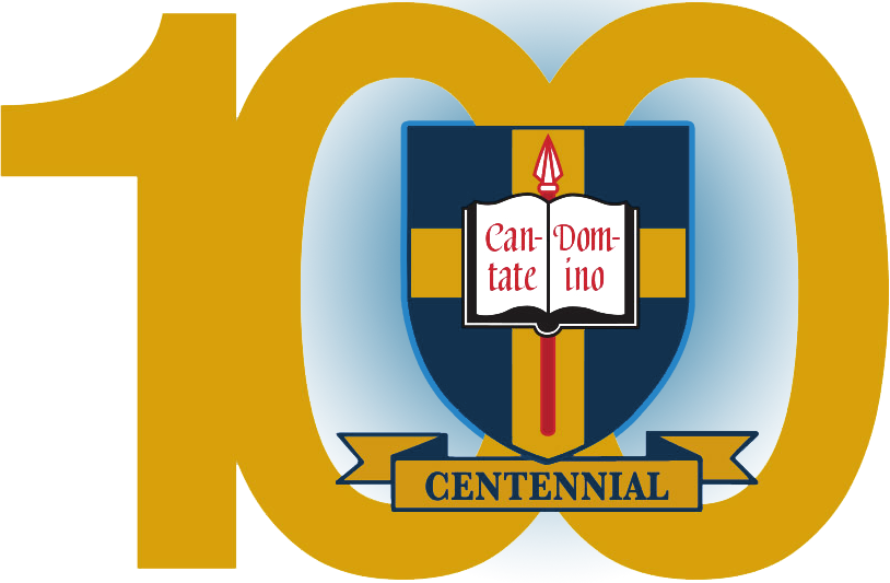 Saint Thomas Choir School centennial crest